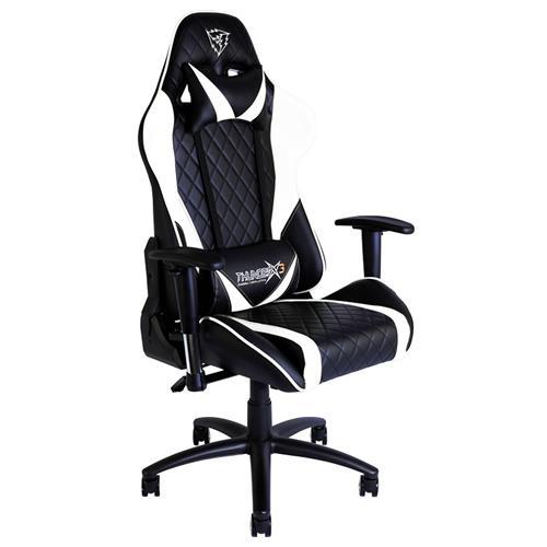 4a2b8941f Cadeira Gaming Thunder X3 TGC15 Preta Branca - Novo Atalho - O ...